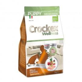 Crockex Dog Puppy Medium/Maxi Chicken & Rice - для щенков средних и крупных пород с курицей и рисом