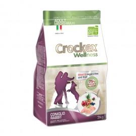 Crockex Dog Adult Medium/Maxi Rabbit & Rice - для собак средних и крупных пород с кроликом и рисом