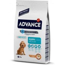 Advance Medium Puppy - cухой корм для щенков средних пород с курицей и рисом