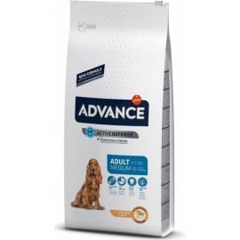 Advance Medium Adult - cухой корм для взрослых собак средних пород с курицей и рисом