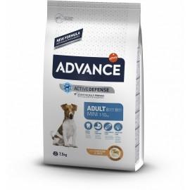 Advance Mini Adult - cухой корм для взрослых собак мелких пород с курицей и рисом