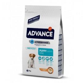 Advance Mini Puppy - cухой корм для щенков мелких пород с курицей и рисом