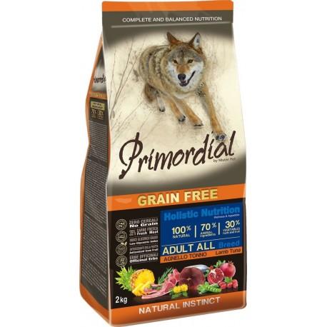 Primordial Holistic Grain-Free Adult Tuna & Lamb - Беззерновой корм для взрослых собак всех пород с тунцом и ягненком