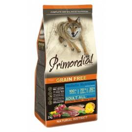 Primordial Holistic Grain-Free Adult Trout & Duck - беззерновой корм для взрослых собак всех пород с форелью и уткой