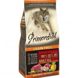 Primordial Holistic Grain-Free Adult Buffalo & Mackerel - беззерновой корм для взрослых собак всех пород с буйволом и скумбрией