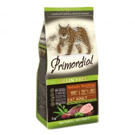 Primordial Holistic Grain-Free Adult Duck & Turkey - беззерновой корм для взрослых кошек с уткой и индейкой