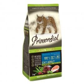 Primordial Holistic Grain-Free Adult Salmon & Tuna - беззерновой корм для взрослых кошек с лососем и тунцом