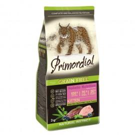 Primordial Holistic Grain-Free Kitten Duck & Turkey - беззерновой корм для котят с уткой и индейкой