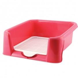 Туалет Triol P652 для собак (сетка в комплекте), 520*400*150мм