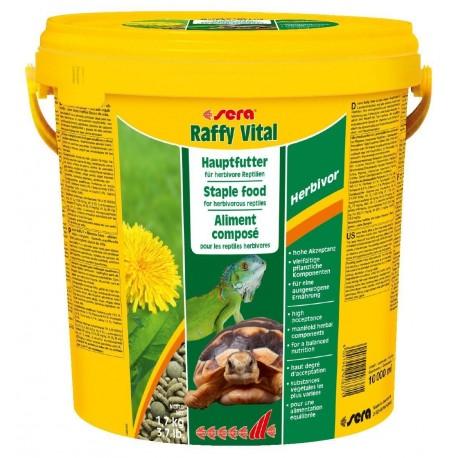 Sera Raffy Vital - корм палочки для растительноядных рептилий, 1,7 кг.