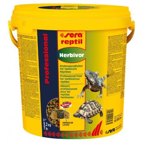 Sera Reptil Professional Herbivor - корм для растительноядных рептилий, 10 л (3,2 кг)