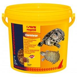 Sera Reptil Professional Carnivor - корм для водных черепах, 10 л, (3,2 кг)