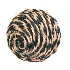 """4075 Игрушка """"TRIXIE"""" для кошки сизалевая в виде мячика с кошачей мятой 6см"""