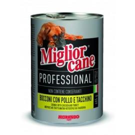 Miglior cane Chicken/Turkey - консерва для собак, кусочки с курицей и индейкой, 405г
