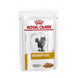 Royal Canin Urinary S/O Feline, курица, кусочик в соусе, 85г