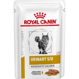 Royal Canin Urinary S/O Moderate Calorie Feline, курица, кусочик в соусе, 85г