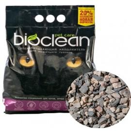Наполнитель для кошачьего туалета BIOCLEAN, супервпитывающий, крупная фракция, 6 л (2,8 кг)