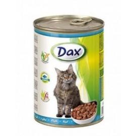 Dax for Cat - консерва для кошек с рыбой, кусочками, 415г