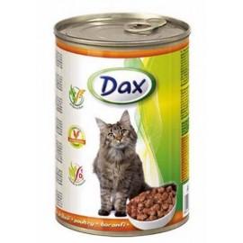 Dax for Cat - консерва для кошек с курицей, кусочками, 415г