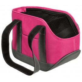 "28857 Сумка-переноска ""TRIXIE"" ""Alea"" до 6 кг, полиэстер, розовый/серый, 16х20х,30 см"