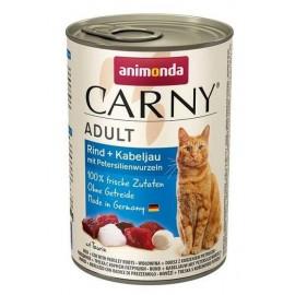 Carny Adult - с говядиной, треской и петрушкой, 400г