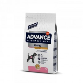Advance Dog VetDiet Atopic Rabbit&Peas - корм для снижения непереносимостей к пище