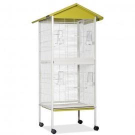 Вольер для птиц Voltrega 446, фисташковый, 58x60x137 см