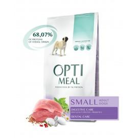 Optimeal Small Adult Dogs Duck - сухой корм для собак малых пород c уткой