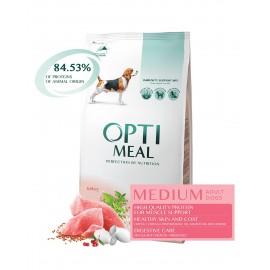 Optimeal Medium Adult Dogs Turkey - сухой корм для собак средних пород c индейкой