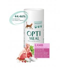Optimeal Sensitive Adult Cats Lamb - сухой корм для кошек с чувствительным пищеварением с ягненком