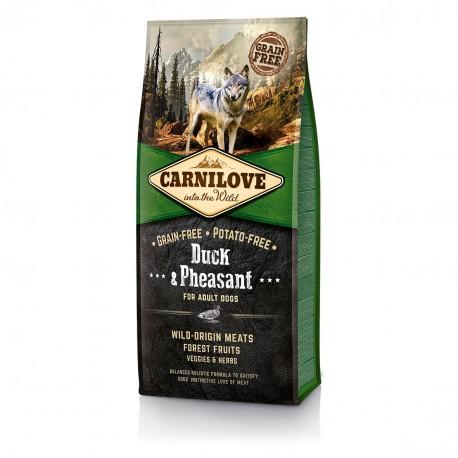 Carnilove Duck & Pheasant for Adult Dogs - беззерновой корм для взрослых собак, утка и фазан