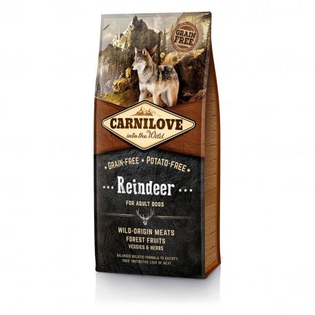 Carnilove Reindeer for Adult Dogs - беззерновой корм для взрослых собак, олень