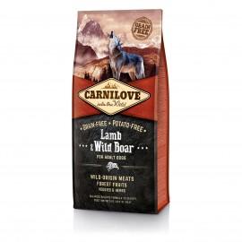 Carnilove Lamb & Wild Boar for Adult Dogs - беззерновой корм для взрослых собак, ягненок и дикий кабан