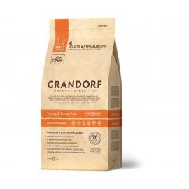 Grandorf Cat Turkey&Rice Sterilised - низкозерновой корм для взрослых стерилизованных кошек (индейка с рисом)