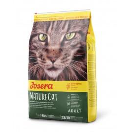 Josera NatureCat - беззерновой корм для кошек с чувствительным пищеварением на основе мяса домашней птицы и лосося