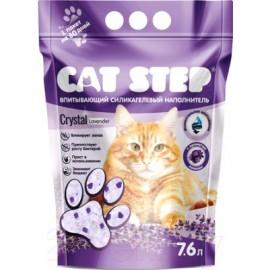 """Cat Step """"Лаванда"""" - силикагелевый наполнитель для кошек, 7,6л."""