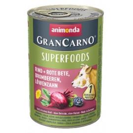 Gran Carno Superfoods (Говядина, свекла, ежевика, одуванчик) 400гр.