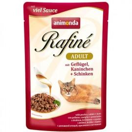 Rafine SOUPE Adult Суп из мяса дом.птицы, кролика и ветчины (100 г)