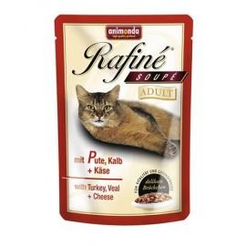 Rafine SOUPE Adult Суп из мяса индейки, телятины и сыра (100 г)
