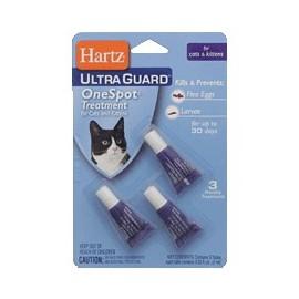 Капли Hartz от блох, яиц блох и их личинок (для котят и кошек)