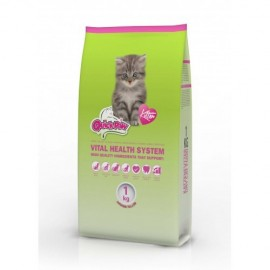 QUICK - PAW Premium Kitten - корм для котят с мясом и кукурузой
