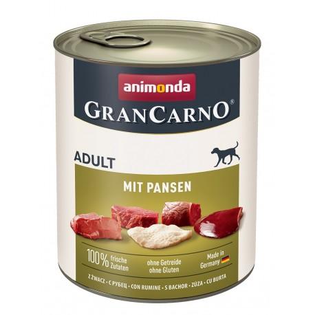 Animonda Gran Carno Fleisch Adult - с рубцом, 800г