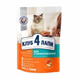 Корм Club 4 Paws Premium для стерилизованных кошек Курица, 80гр