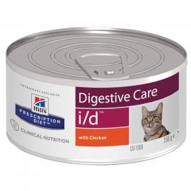 Консервы Hill's PD Feline i/d - для кошек для лечения заболеваний желудочно-кишечного тракта, 156 г (упаковка 12 штук)