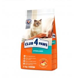 """""""Клуб 4 лапы"""" Sterilised корм для кастрированных котов и стерилизованных кошек"""