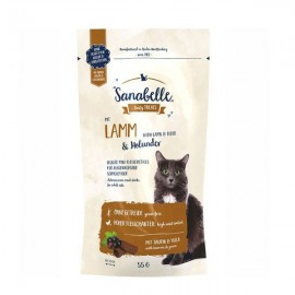 Лакомство для кошек Bosch Sanabelle Cat Sticks Lamb Elder, 55г