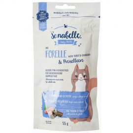 Лакомство для кошек Bosch Sanabelle Cat Sticks Trout Cranberry, 55г