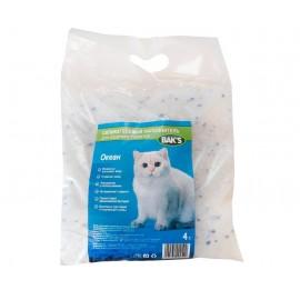 Bak's ОКЕН - силикагелевый наполнитель для кошачьего туалета