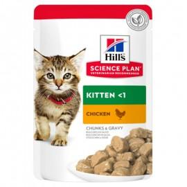 Пресервы HILL'S для для котят с курицей, 100 г
