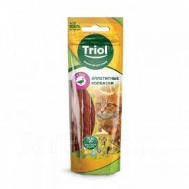 Аппетитные колбаски Triol...